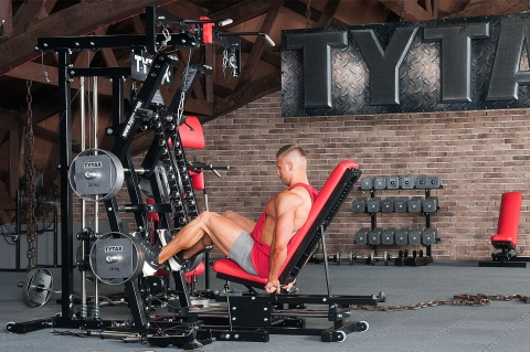 TYTAX M2 Multi-Gym Beinpresse sitzend
