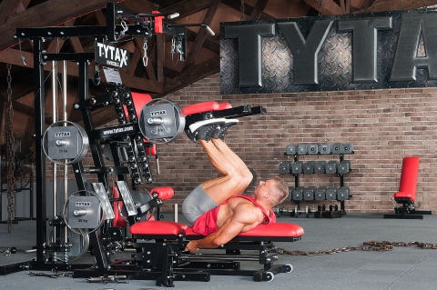 TYTAX M2 Multi-Gym Beinpresse vertikal alternierend