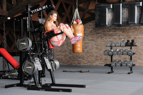 TITAN M1 Homegym Beinheben - Option C
