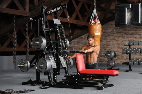 TITAN M1 Multi-Gym Handgelenk Training