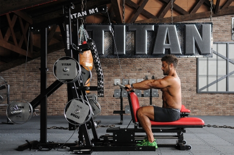 TITAN M1 Multi-Gym Unterarm Training