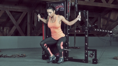 Cable Hip Adduction to Leg-Hip Raise | TYTAX® S6 adduktion hüfte