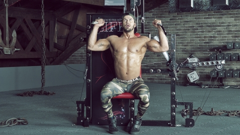 Seated Cable Shoulder Press (Parallel Grip) tytax s6