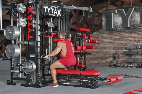 TYTAX Homegym Multipresse Kniebeuge
