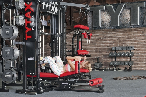 TYTAX Homegym Beinpresse liegend
