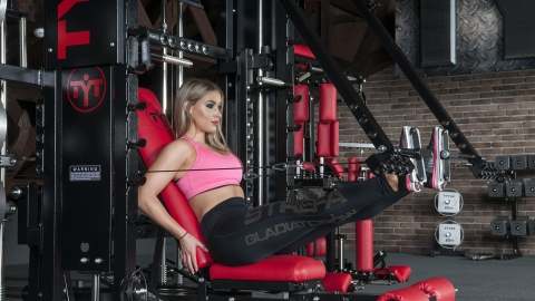 Seated Lever Leg Press | TYTAX® T1-X (Opt. JD)