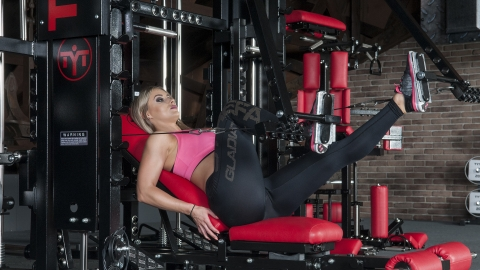 Incline Alternating Lever Leg Press | TYTAX® T1-X (Opt. JD)
