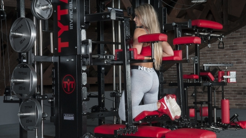 Lever Hanging Glute Extension | TYTAX® T1-X (Opt. JD)