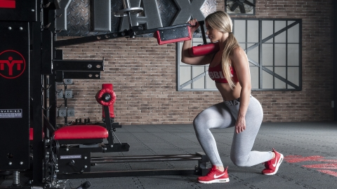 Lever Alternating Split Squat | TYTAX® T1-X (Opt. JD)