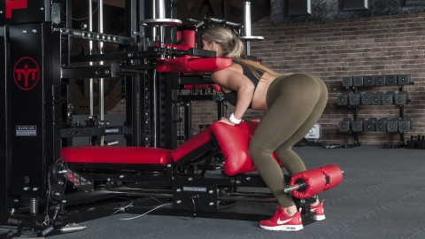 Lever Glute Bridge | TYTAX® T1-X (Opt. JD)