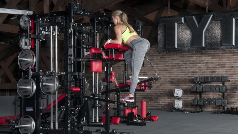 Lever Alternating Leg Press | TYTAX® T1-X (Opt. JD)