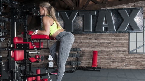 Lever Glute Exercise | TYTAX® T1-X (Opt. JD)