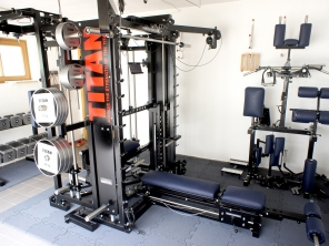 Homegym in der Garage