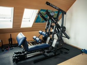 TITAN M1 Home-Gym (blau)