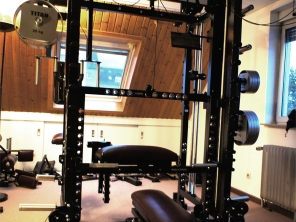 TITAN Home Gym Kraftstation Beinpresse
