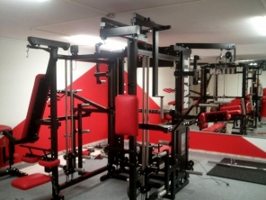 TITAN T3-X Power-Rack (Rot)