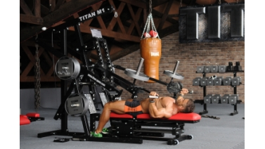 TITAN M1 Homegym Fliegende - Option JA