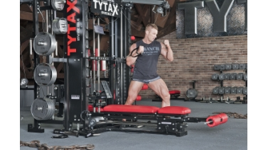 TYTAX T1 Cable Twisting Chest Press
