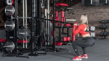 Lever Squat With Shoulder Press | TYTAX® T1-X (Opt. JD)
