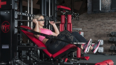 Incline Lever Abs Exercise   TYTAX® T1-X (Opt. JD)