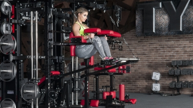 Lever Hanging Leg Press | TYTAX® T1-X (Opt. JD)